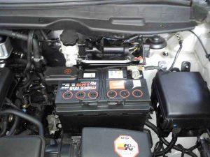 Аккумулятор на Хендай ix35.