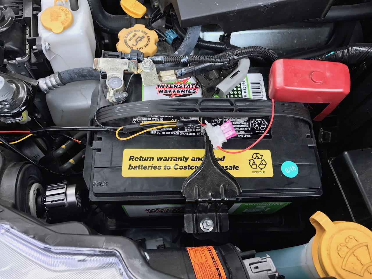Аккумулятор для Subaru Outback