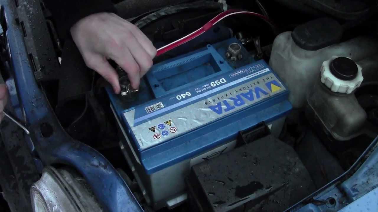 Замена аккумулятора на Chevrolet Captiva