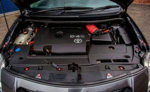 Штатные АКБ для Toyota Auris.