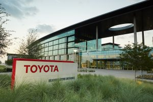 Компания Toyota.