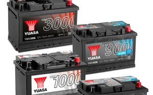 Автомобильные аккумуляторные батареи YUASA.